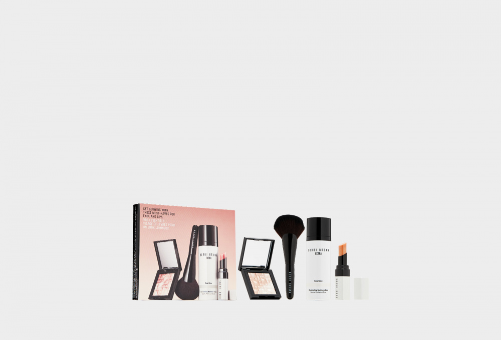 Набор BOBBI BROWN Instant Glow Set For Face & Lips Set 4 мл bobbi brown face mask instant detox
