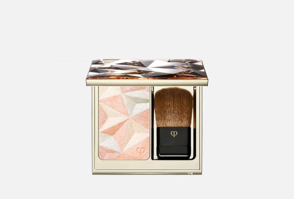 Моделирующая пудра, придающая коже сияние CLE DE PEAU BEAUTE Luminizing Face Enhancer 10 мл пуховка для прозрачной рассыпчатой пудры cle de peau beaute puff translucent loose powder 1 мл