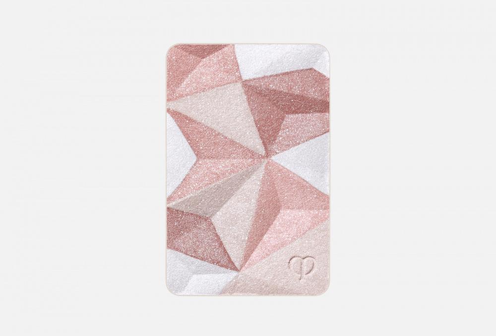 Моделирующая пудра, придающая коже сияние (сменный блок) CLE DE PEAU BEAUTE Luminizing Face Enhancer 10 мл пуховка для прозрачной рассыпчатой пудры cle de peau beaute puff translucent loose powder 1 мл