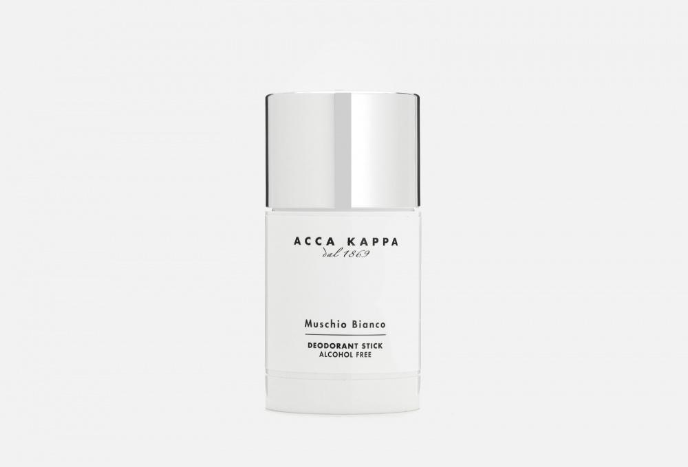 Дезодорант-стик ACCA KAPPA Muschio Bianco 75 мл мыло для бритья acca kappa 1869 muschio bianco 200мл