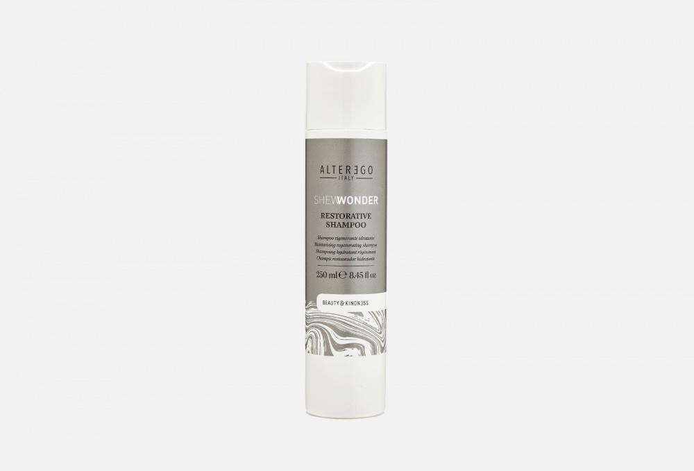 Восстанавливающий шампунь для непослушных волос ALTEREGO ITALY Shewonder Restorative Shampoo 250 мл