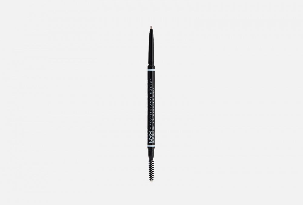УЛЬТРАТОНКИЙ КАРАНДАШ ДЛЯ БРОВЕЙ NYXPROFESSIONAL MAKEUP Micro Brow Pencil 1.5 мл