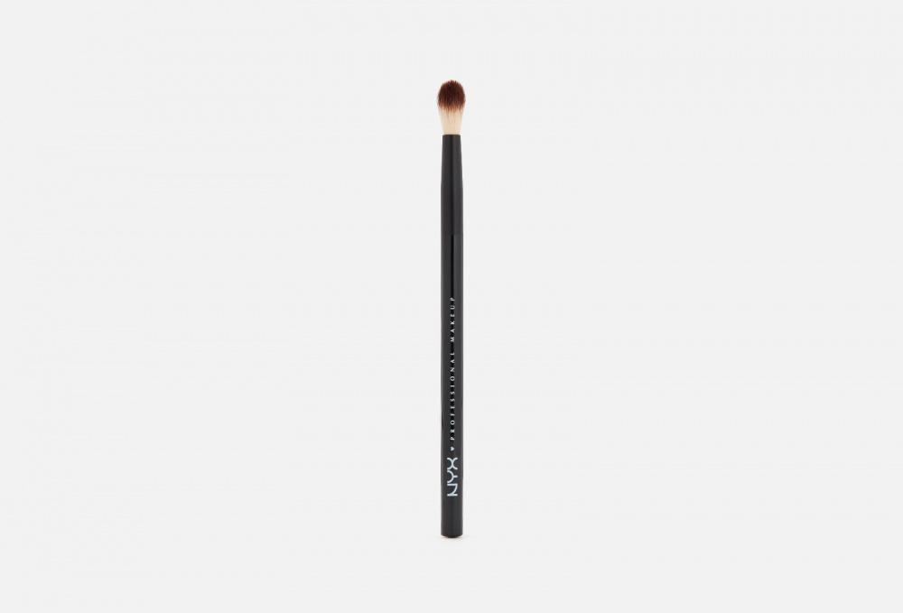 Фото - ПРОФЕССИОНАЛЬНАЯ КИСТЬ ДЛЯ МАКИЯЖА ГЛАЗ NYXPROFESSIONAL MAKEUP Pro Brush - Blending 16 nyx карандаш для глаз