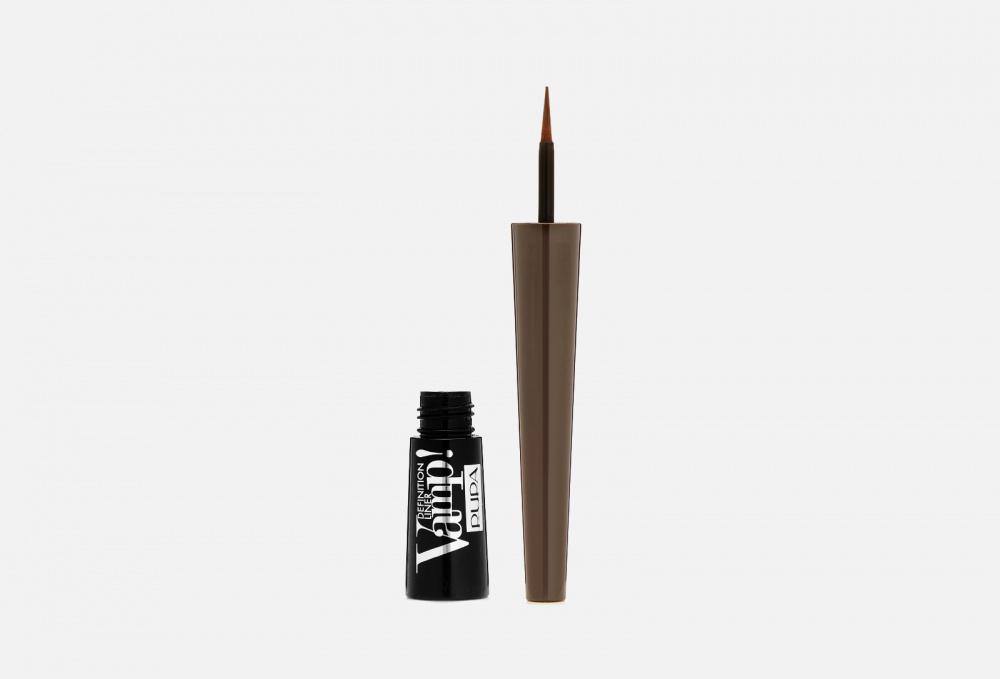 pupa vamp waterproof vamp waterproof pencil made to last Подводка для глаз с фетровым аппликатором PUPA Vamp! Definition Liner 2.5 мл