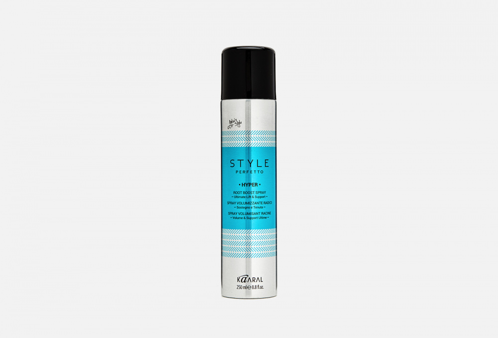Фото - Спрей для прикорневого объема (лосьон) KAARAL Hyper Root Boost Spray 250 мл спрей для прикорневого объема волос root canal volumising spray спрей 50мл