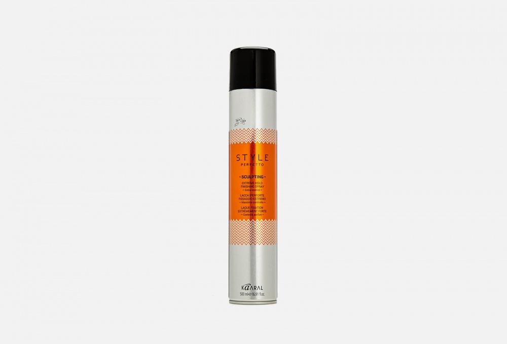 Защитный лак для волос экстрасильной фиксации KAARAL Style Perfetto Sculpting 500 мл