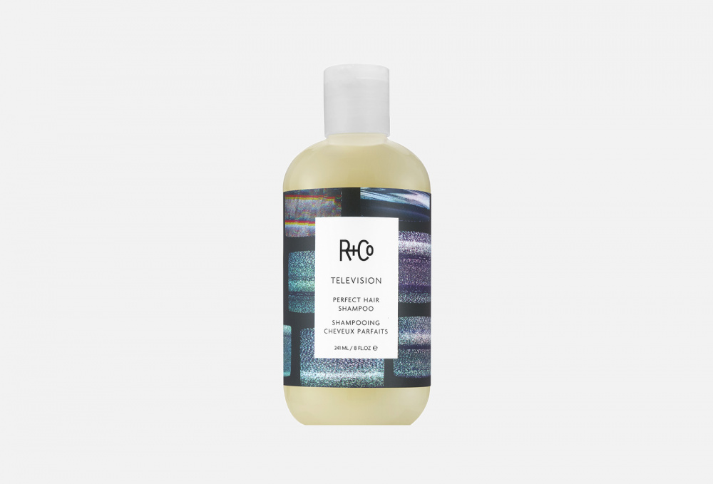 Фото - Шампунь для совершенства волос R+CO Television Perfect Hair Shampoo 241 мл текстурирующий шампунь r co cactus texturizing shampoo 177 мл