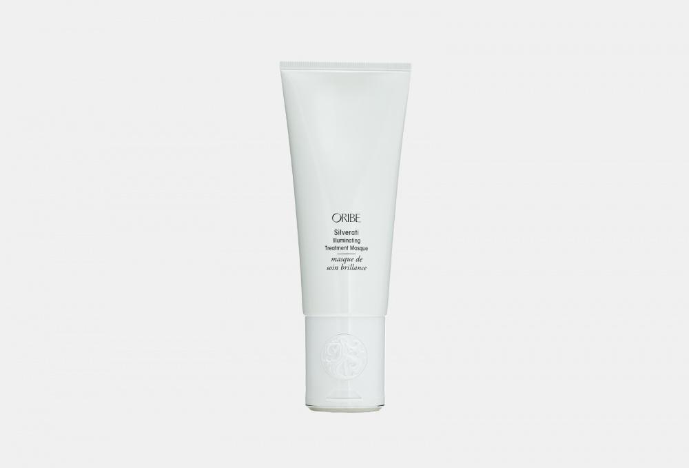 Маска для окрашенных в пепельный и седых волос ORIBE Silverati Illuminating Treatment Masque 150 мл шампунь для окрашенных в пепельный и седых волос благородство серебра oribe silverati shampoo 250 мл