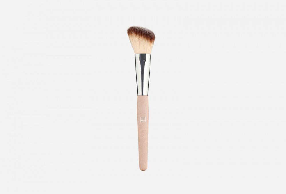 Фото - Кисть для румян 3INA The Blush Brush 1 мл кисть для нанесения макияжа 3ina the kabuki brush 1 мл