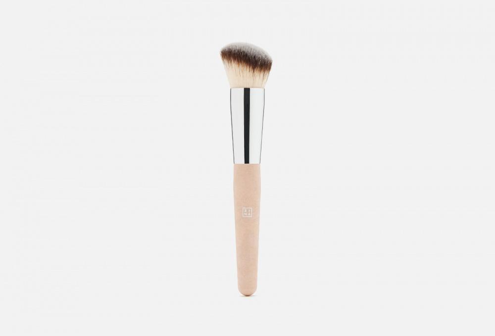 Фото - Универсальная кисть для лица 3INA The All In One Brush 1 мл кисть для нанесения макияжа 3ina the kabuki brush 1 мл
