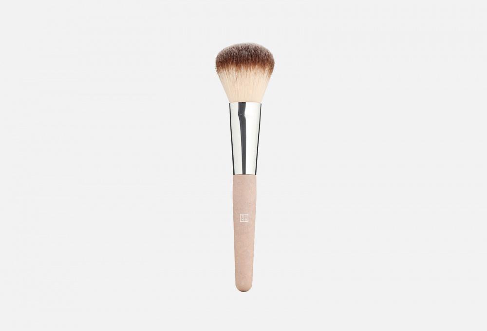 Фото - Кисть для нанесения пудры 3INA The Powder Brush 1 мл кисть для нанесения макияжа 3ina the kabuki brush 1 мл