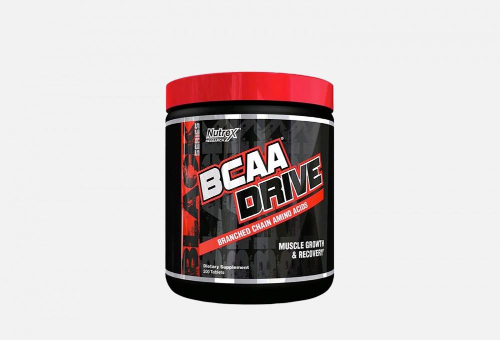 Аминокислоты NUTREX Bcaa Drive 200 мл scitec nutrition bcaa express 7 г