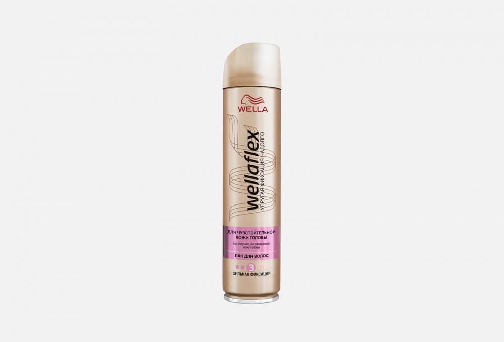 Лак для волос сильной фиксации WELLA Wellaflex Без Запаха 250 мл wella лак для волос wellaflex для чувствительной кожи головы сильная фиксация 250 мл