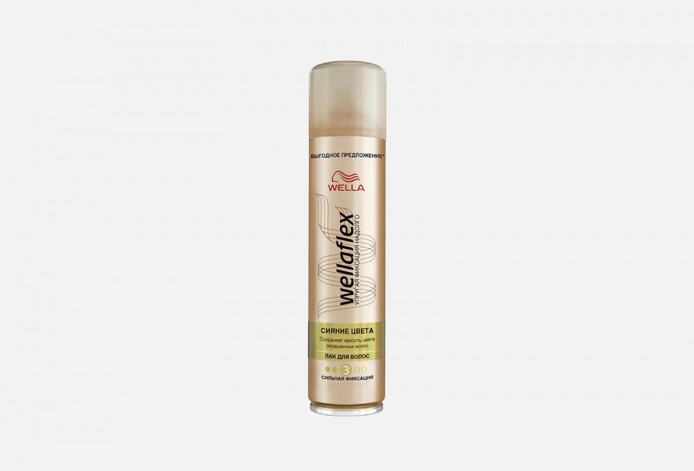 Лак для волос сильной фиксации WELLA Wellaflex Сияние Цвета 400 мл недорого