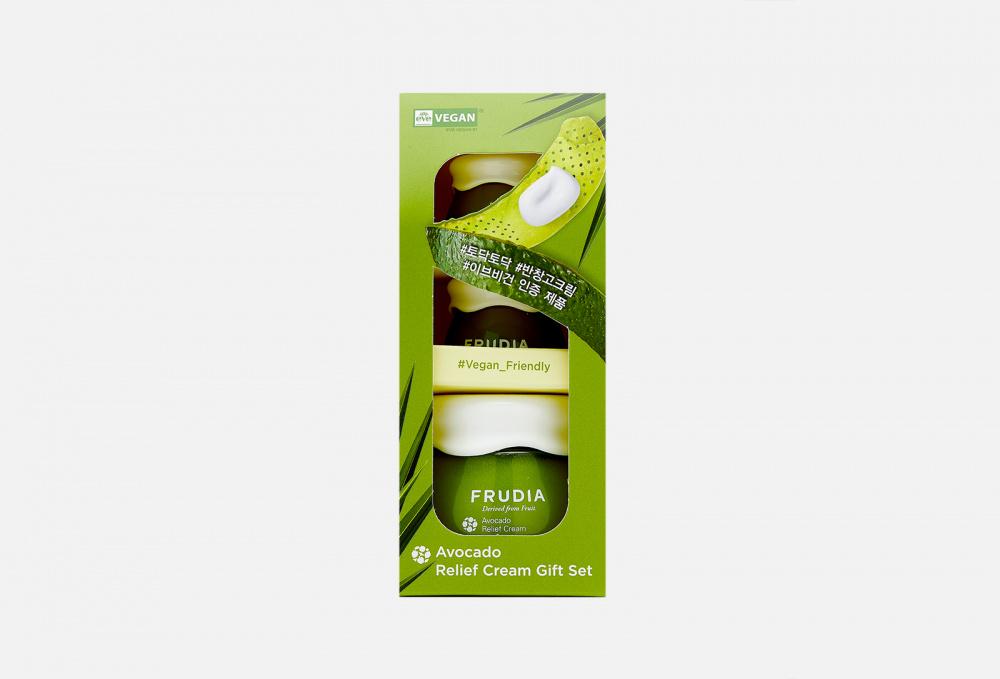 Купить Подарочный набор восстанавливающих кремов с авокадо, FRUDIA