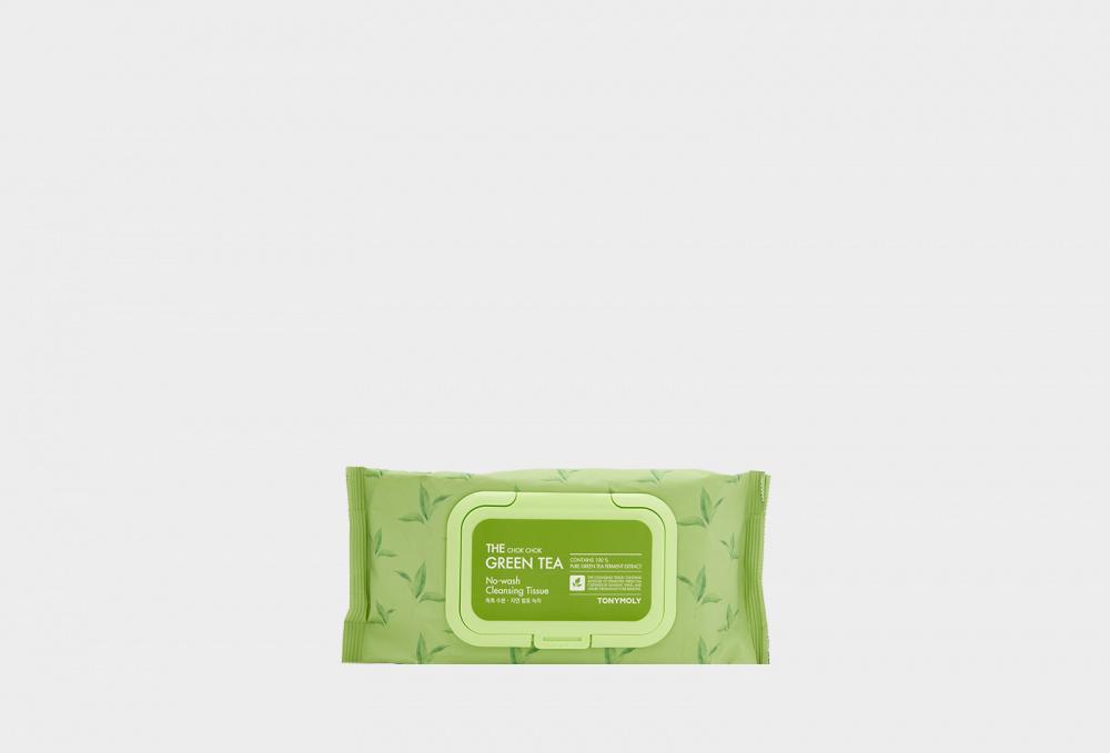 Фото - Салфетки для снятия макияжа с экстрактом зеленого чая TONY MOLY The Chok Chok 100 мл влажные салфетки гармония свежести универсальные с экстрактом зеленого чая и жасмина 100 шт