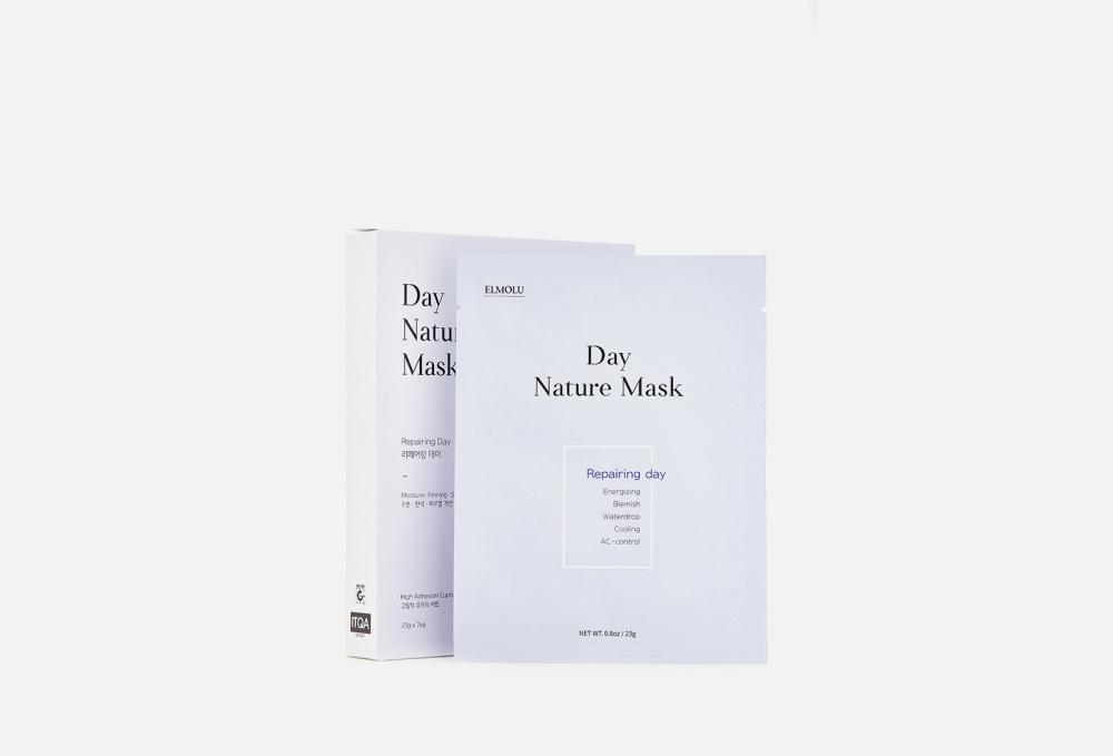 Набор восстанавливающих масок ELMOLU Repairing Day Day Nature Mask 7 мл