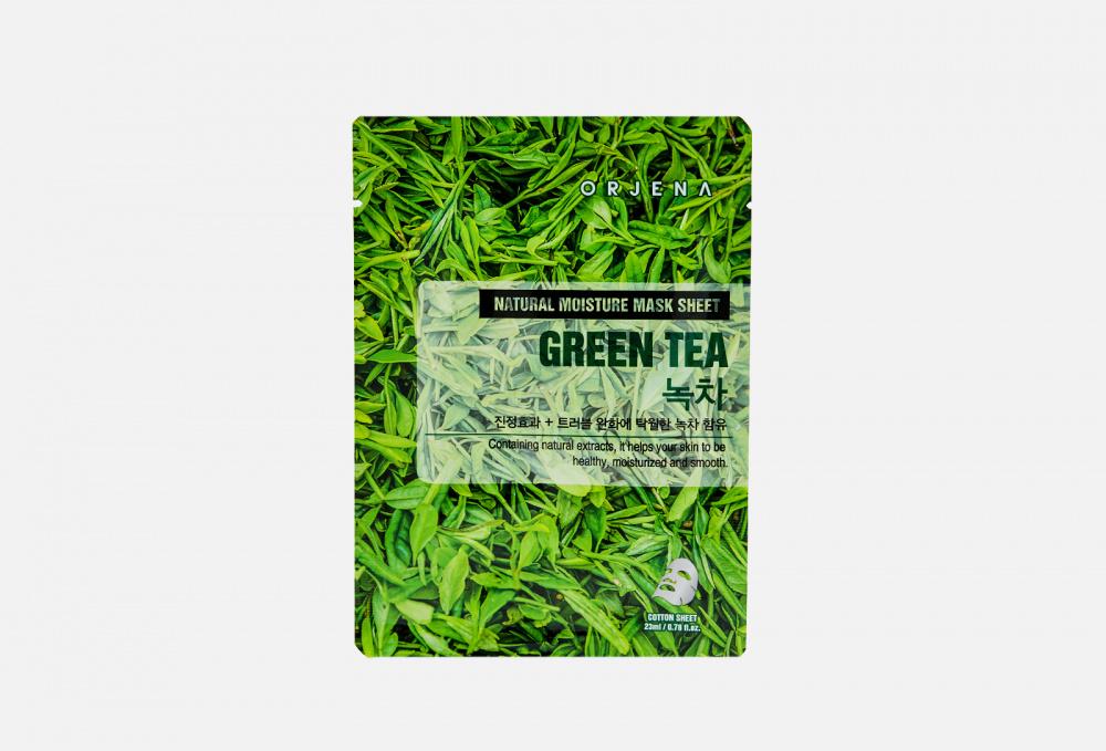 Тканевая маска для лица с зеленым чаем ORJENA Natural Moisture Green Tea Mask Sheet 1 мл недорого