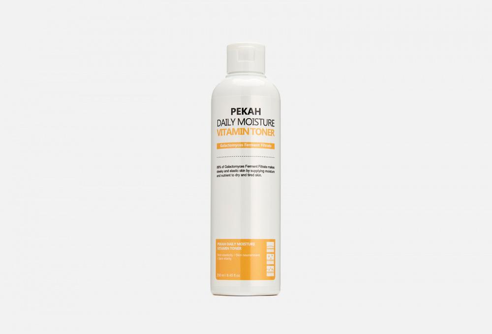 Фото - Витаминизирующий тонер для ровного цвета лица PEKAH Daily Moisture Vitamin Toner 250 мл увлажняющий тонер для лица с витаминами vitamin moisture toner 250мл