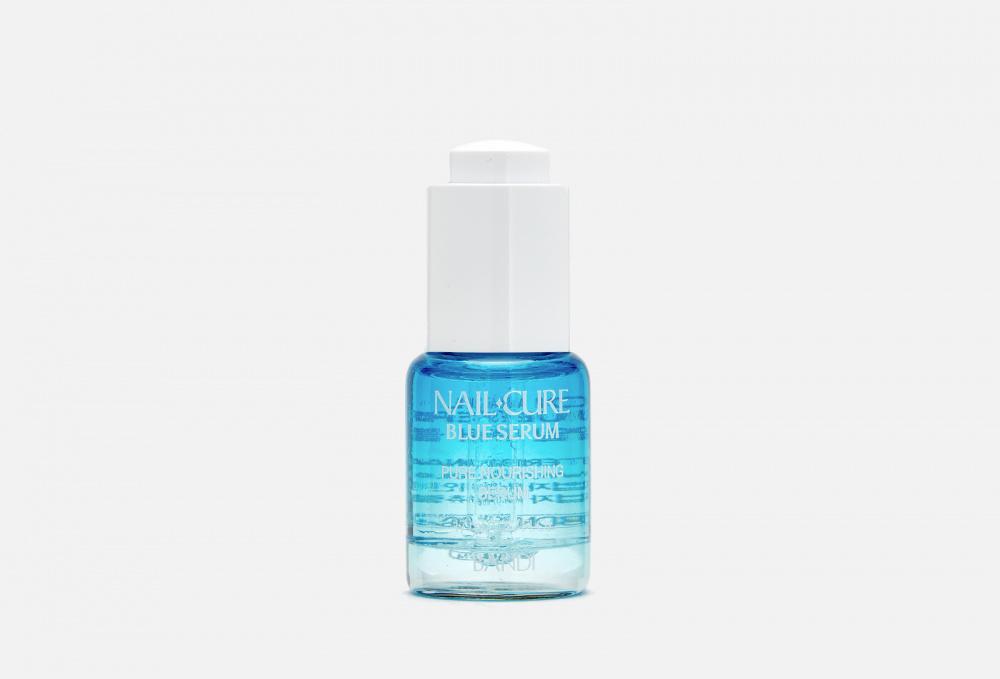 Сыворотка питательная для ногтей и кутикулы «Мощь океана» BANDI Nail Cure Blue Serum 17 мл недорого