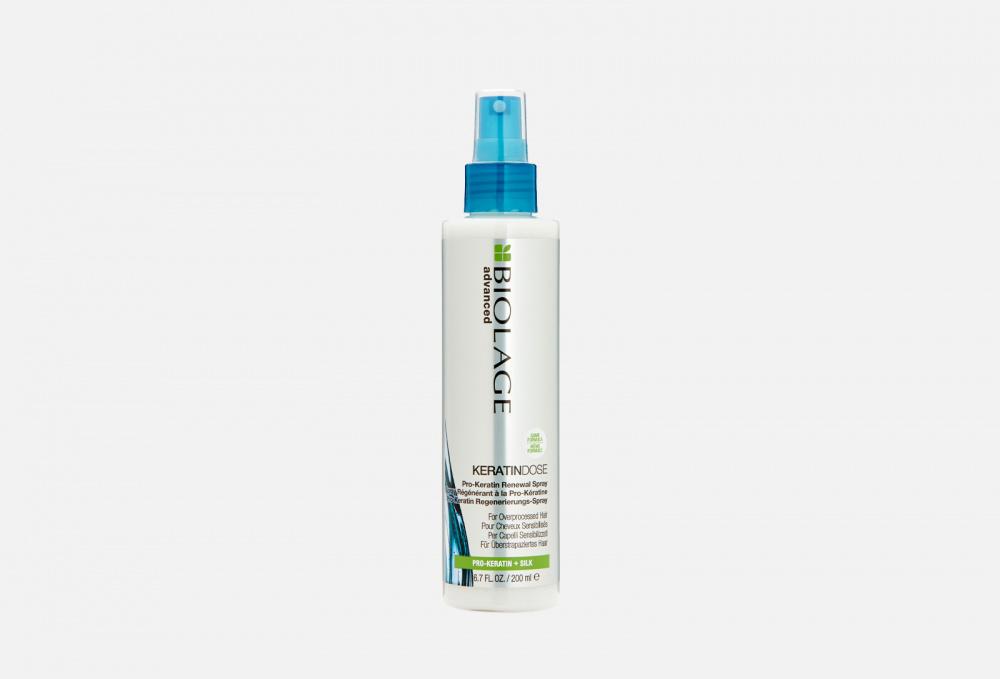 Спрей для волос несмываемый восстанавливающий BIOLAGE Keratindose 200 мл