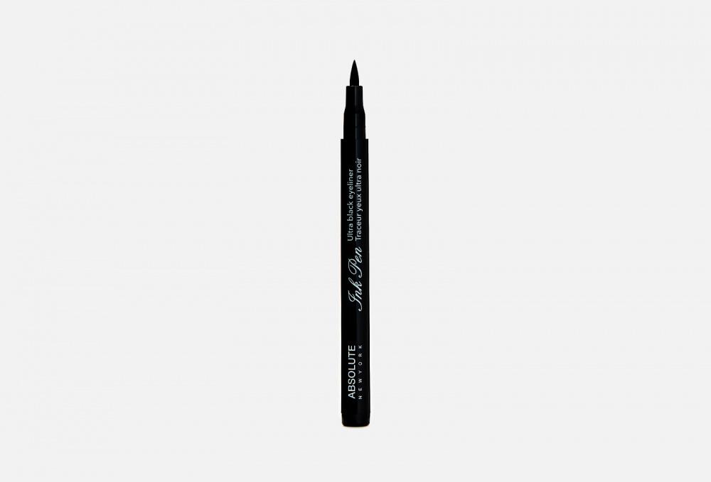 ПОДВОДКА ДЛЯ ГЛАЗ ABSOLUTE NEW YORK Ink Pen Ultra Black Eye Liner 3.5 мл недорого
