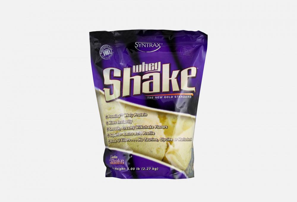Протеин со вкусом ванили SYNTRAX Whey Shake 2270 мл протеин со вкусом насыщенного шоколада maxler 100% golden whey 2270 мл