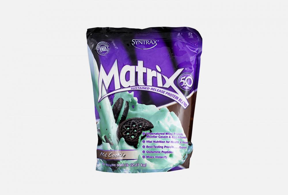 Протеин со вкусом мятного печенья SYNTRAX Matrix 5.0 2270 мл