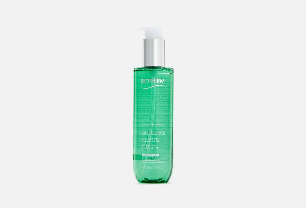 Фото - Тоник для лица увлажняющий, для нормальной и комбинированной кожи BIOTHERM Biosource Toner 200 мл biotherm biosource тонизирующий лосьон для нормальной и комбинированной кожи