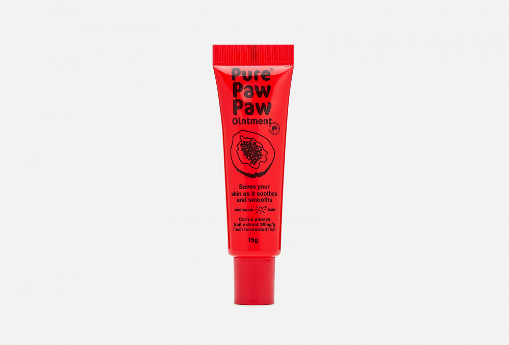 Восстанавливающий бальзам для губ PURE PAW PAW Ointment Original 15 мл
