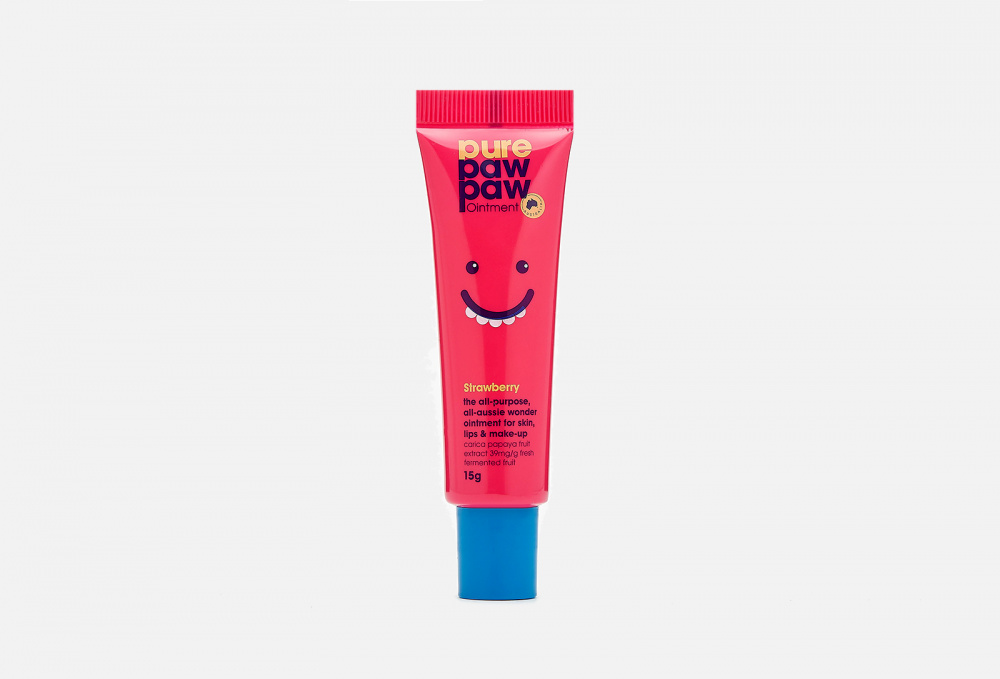 Восстанавливающий бальзам для губ PURE PAW PAW Ointment Strawberry 15 мл недорого