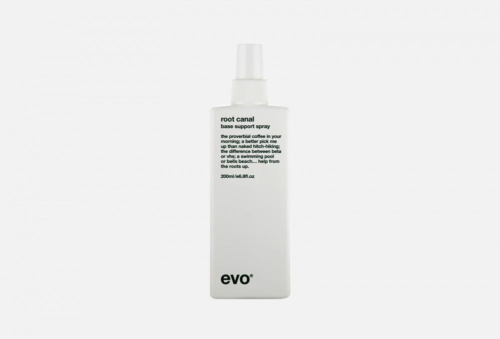 Фото - Спрей для прикорневого объема EVO Root Canal Base Support Spray 200 мл спрей для прикорневого объема волос root canal volumising spray спрей 50мл