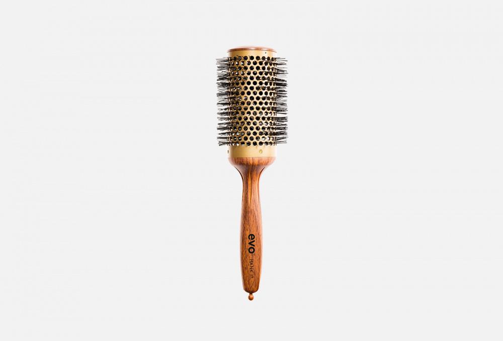 Керамическая круглая термощетка для волос 52 мм Evo