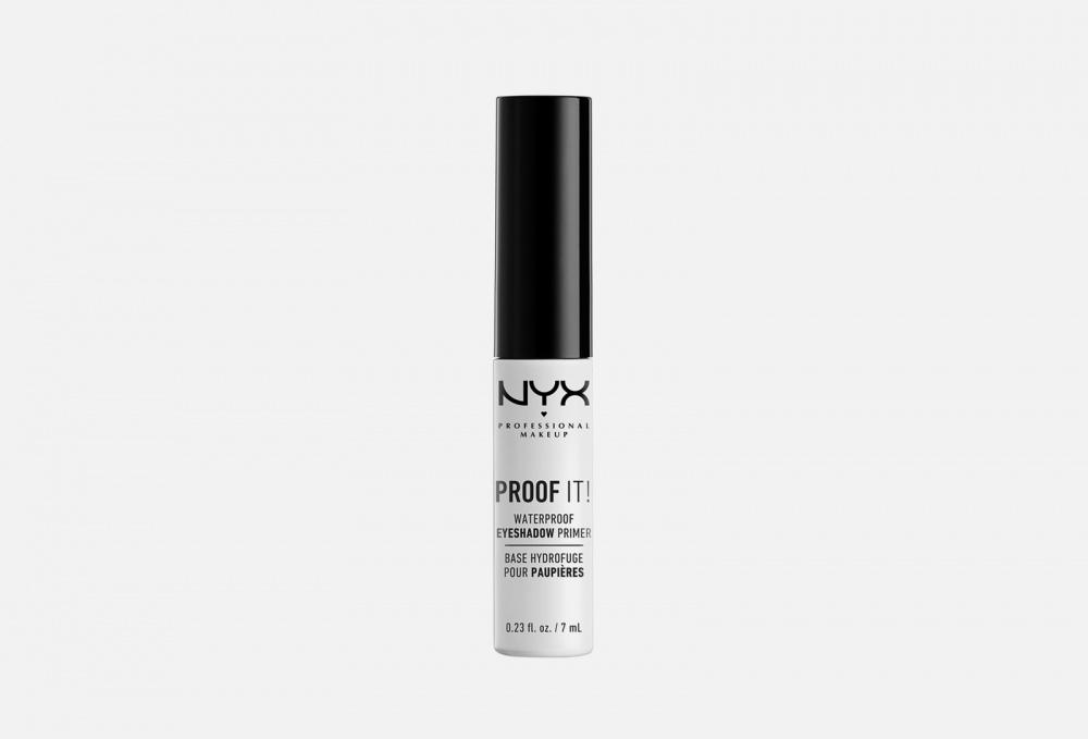 Фото - ВОДОСТОЙКАЯ ОСНОВА ДЛЯ ВЕК NYXPROFESSIONAL MAKEUP Proof It! - Waterproof Eye Shadow Primer 7 мл nyx карандаш для глаз