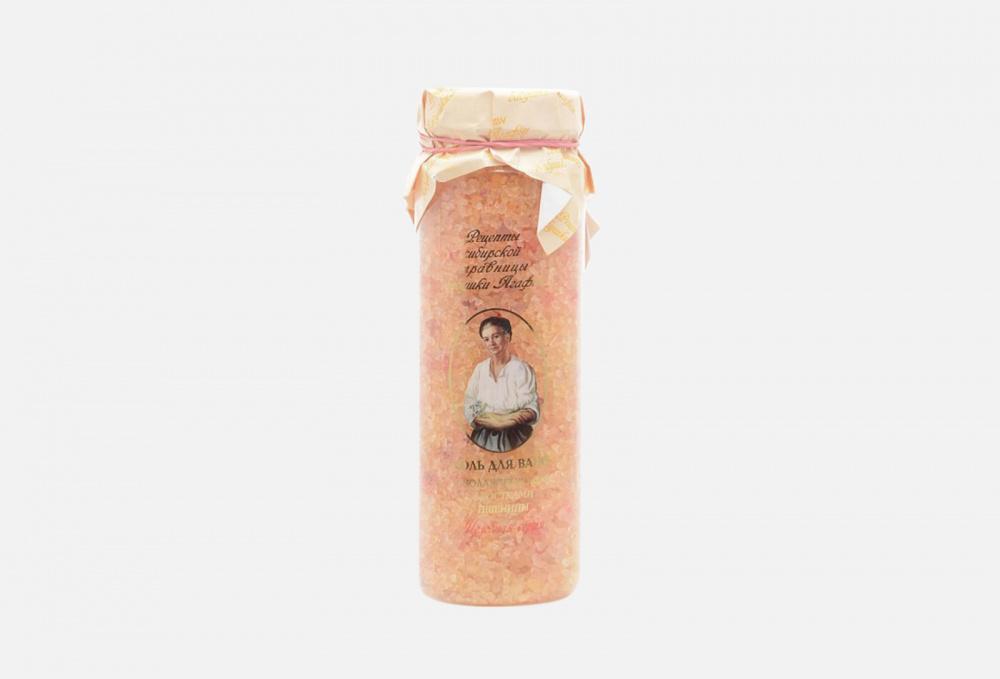 Фото - Омолаживающая соль для ванн РЕЦЕПТЫ БАБУШКИ АГАФЬИ Ростки Пшеницы 800 мл соль для ванн с медом рецепты бабушки агафьи противопростудная 800 мл