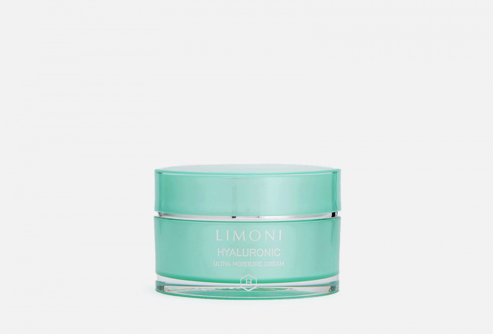 Ультраувлажняющий крем для лица с гиалуроновой кислотой - LIMONI Hyaluronic Ultra Moisture Cream 50 мл недорого
