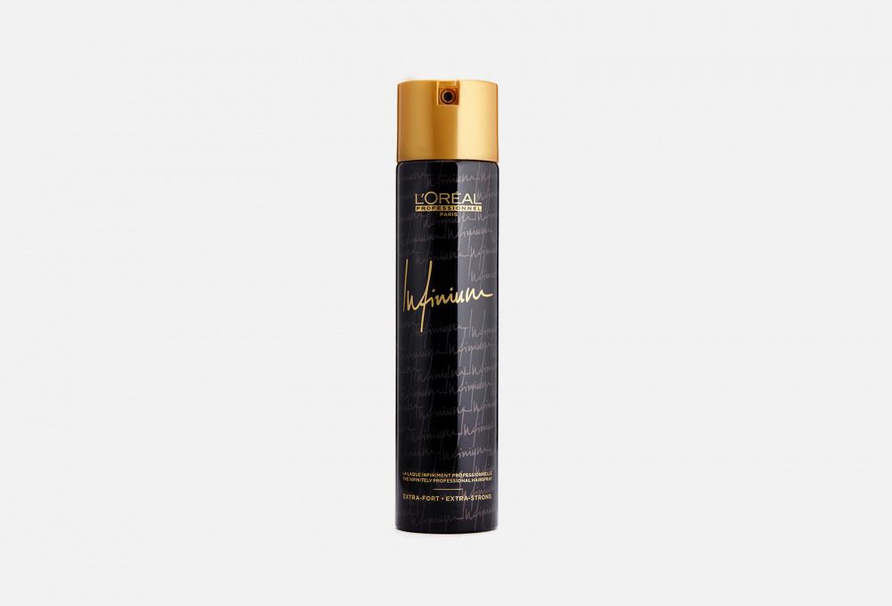 Лак для волос ультра сильной фиксации L'OREAL PROFESSIONNEL Infinium Extra-fort 300 мл недорого
