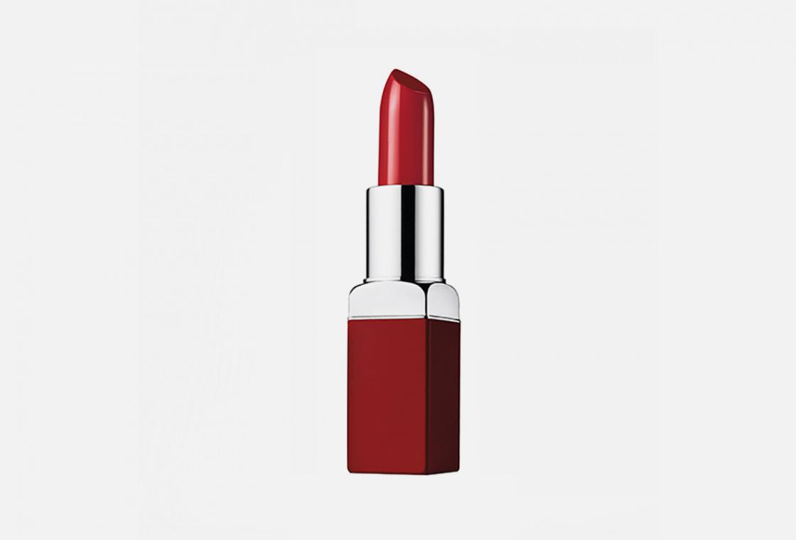 Помада для губ: интенсивный цвет и уход  Clinique Pop Lip Colour + Primer