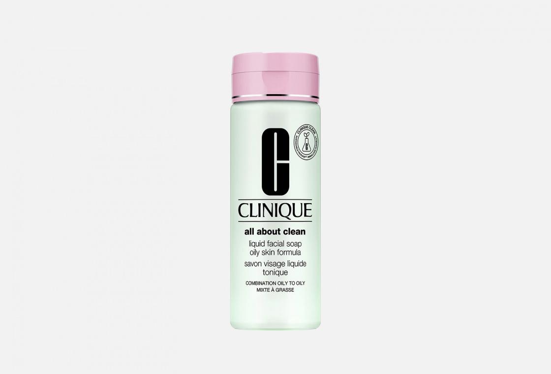 Сильнодействующее жидкое мыло для жирной кожи  Clinique Liquid Facial Soap Oily Skin