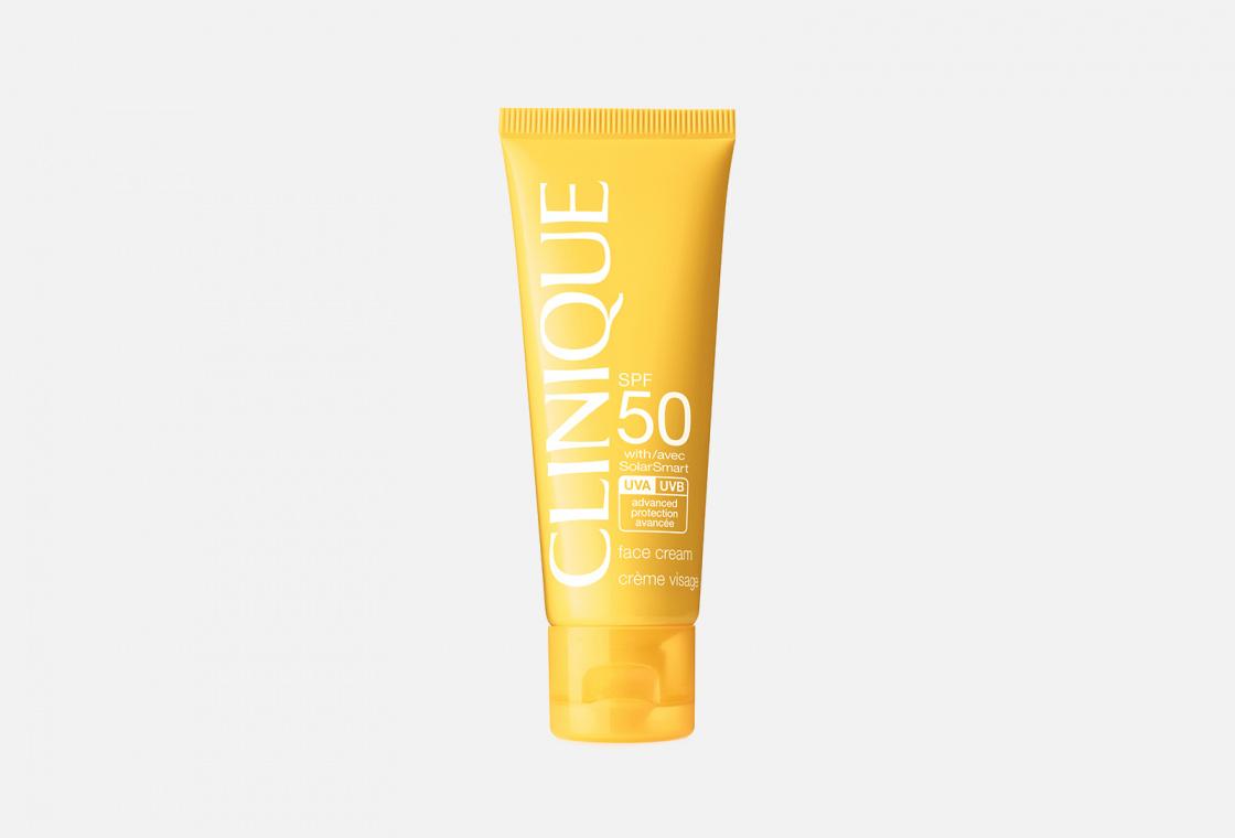 Солнцезащитный крем для лица Clinique Face Cream SPF 50