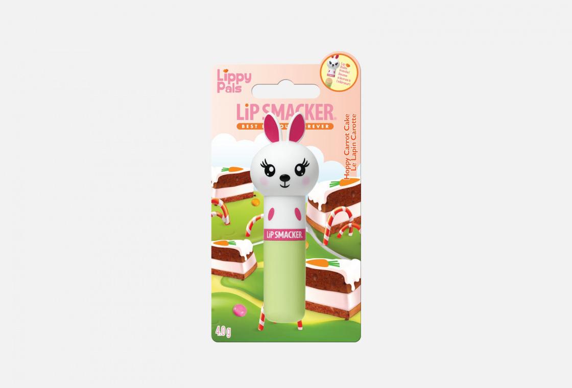 Бальзам для губ с ароматом морковный пирог LIP SMACKER  Bunny