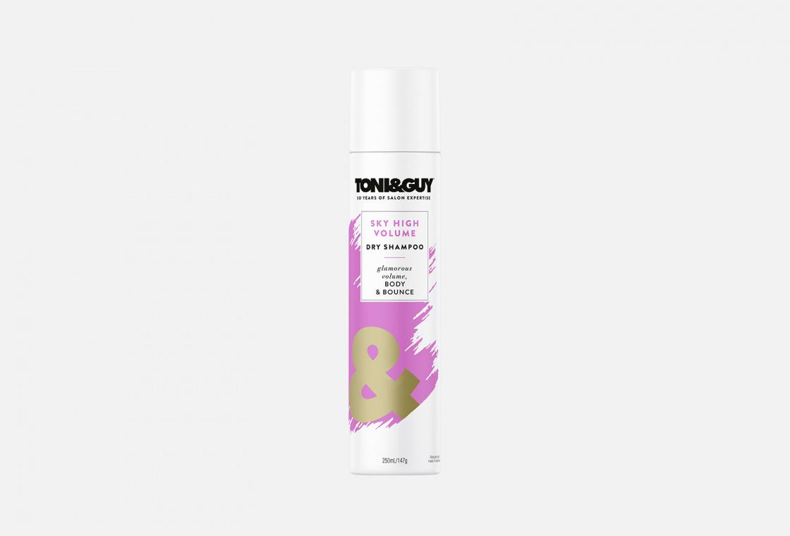 Шампунь сухой ГОЛОВОКРУЖИТЕЛЬНЫЙ ОБЪЕМ Toni & Guy Sky High Volume Dry Shampoo