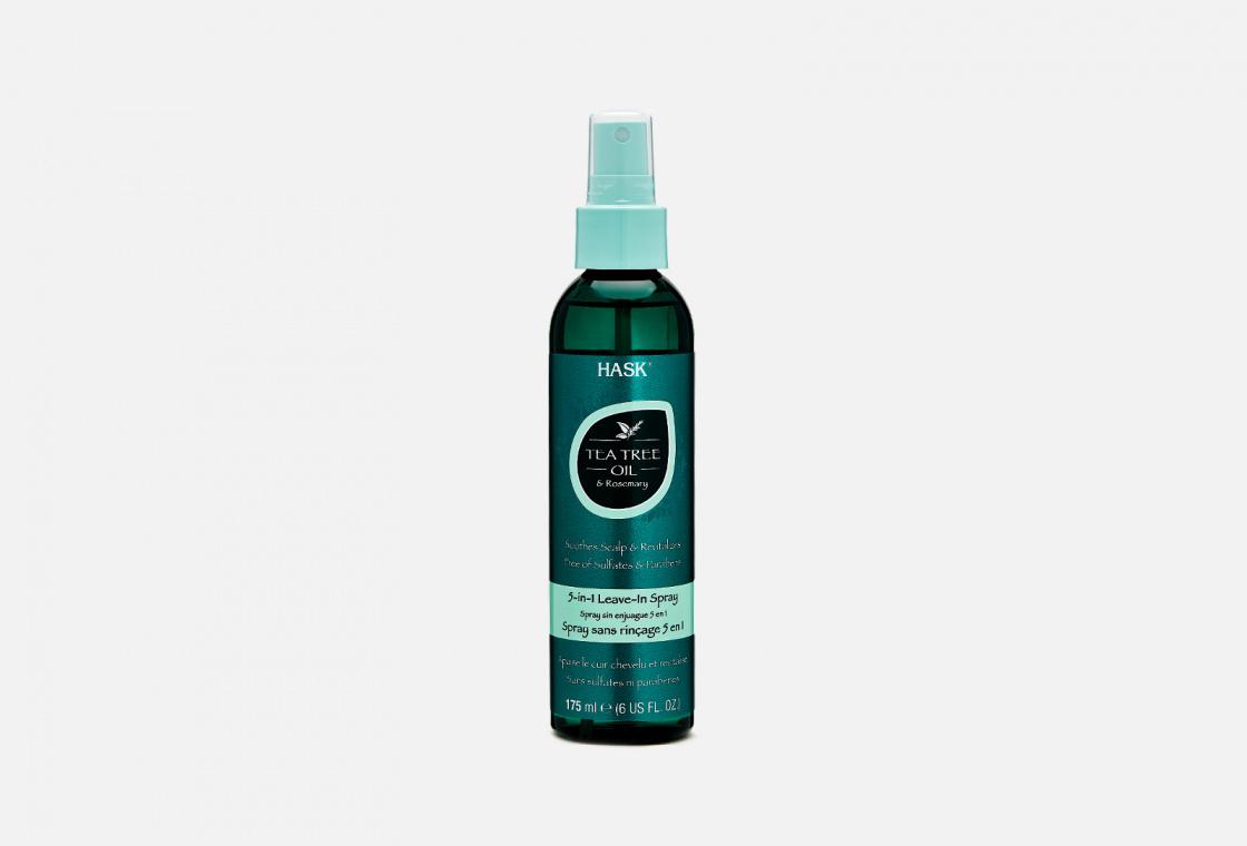Спрей несмываемый 5в1 Hask Tea Tree Oil & Rosemary