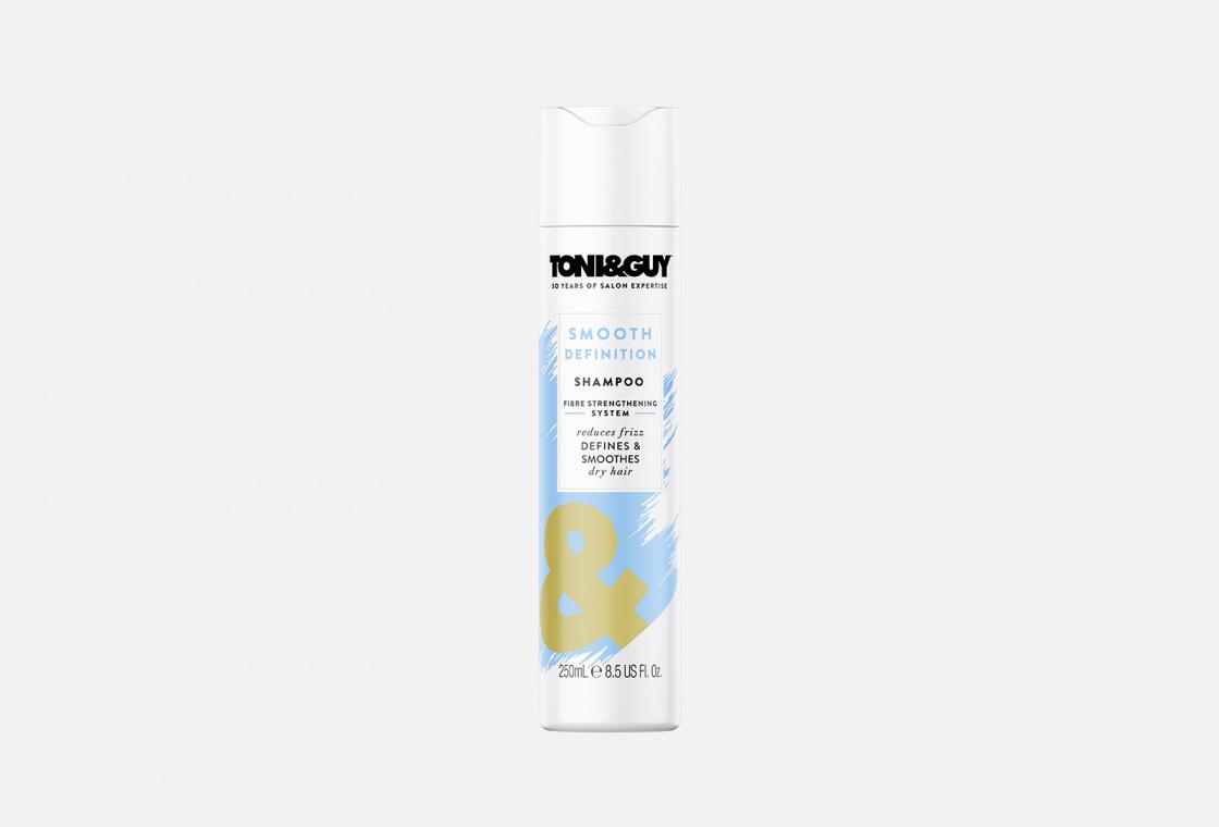 Шампунь ГЛАДКОСТЬ НЕПОСЛУШНЫХ ВОЛОС  Toni & Guy Smooth Definition Shampoo