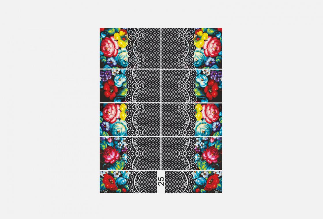 Слайдер-дизайн для ногтей Krimle 25