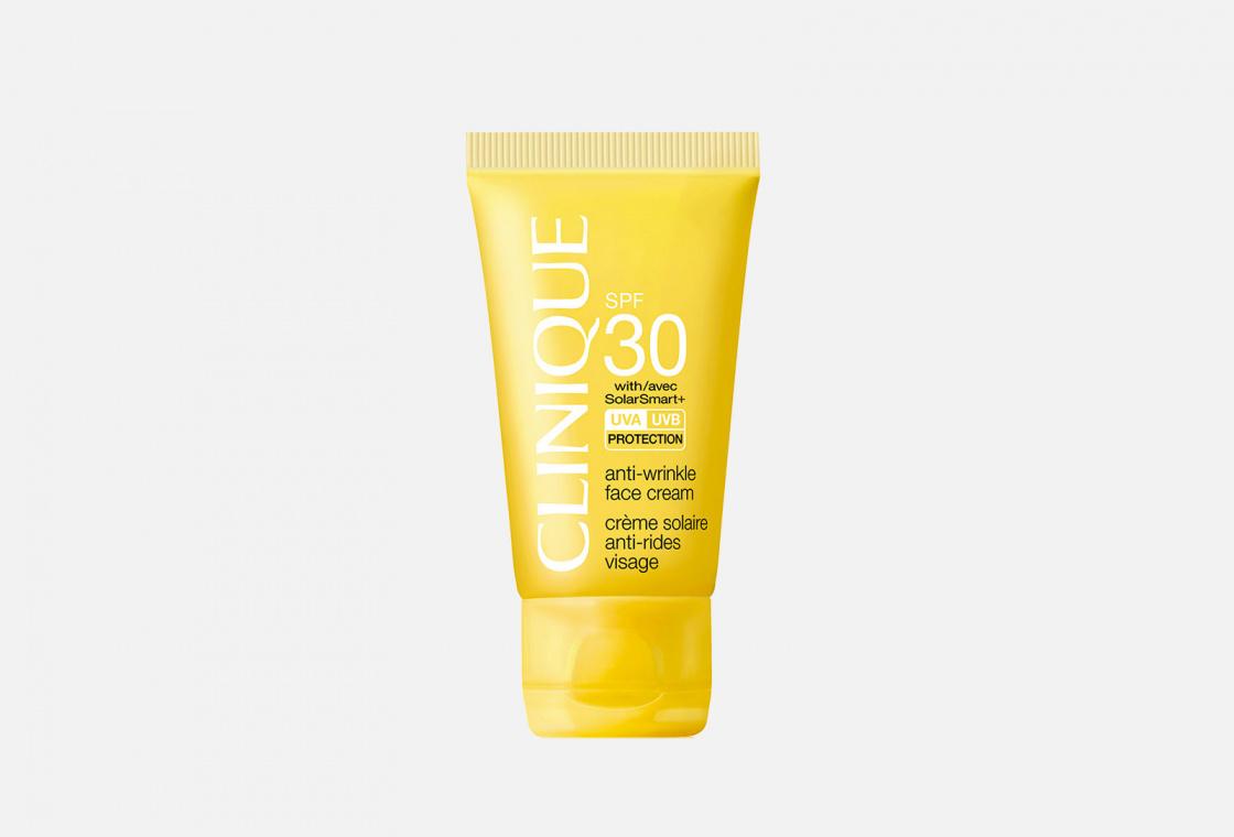 Солнцезащитный крем для лица  SPF 30 Clinique Anti-wrinkle Face Cream