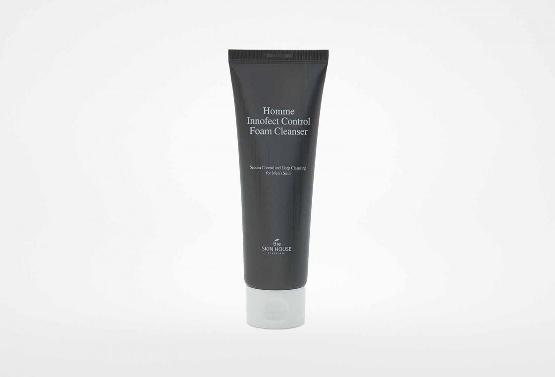 Очищающая пенка The Skin House HOMME INNOFECT CONTROL FOAM CLEANSER