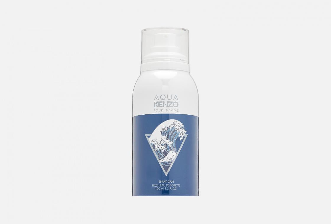Свежая туалетная вода Kenzo aqua kenzo spray can pour homme