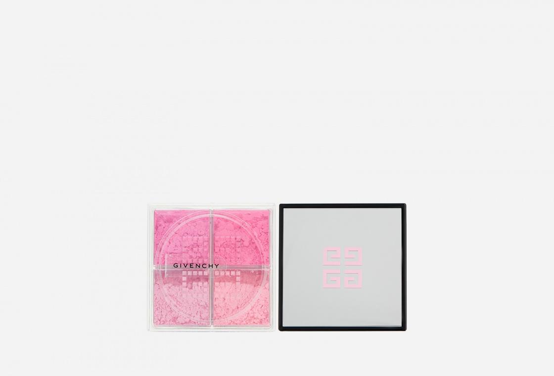 Рассыпчатые четырехцветные румяна для лица Givenchy  PRISME LIBRE BLUSH