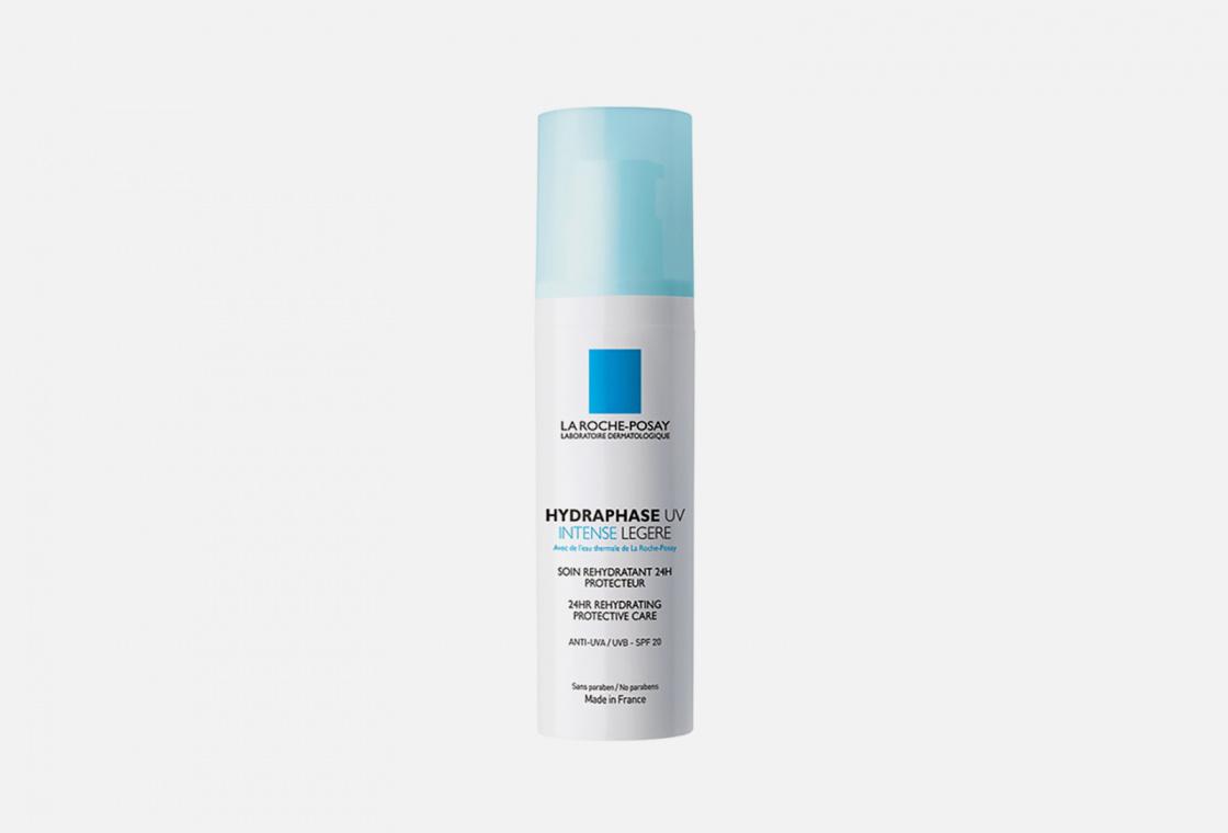 Интенсивное увлажняющее средство для нормальной и комбинированной кожи La Roche-Posay  Hydraphase UV Intense Legere